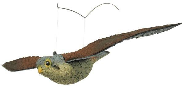 kunststoff falke fliegend spannweite 56 cm vogelabwehr. Black Bedroom Furniture Sets. Home Design Ideas